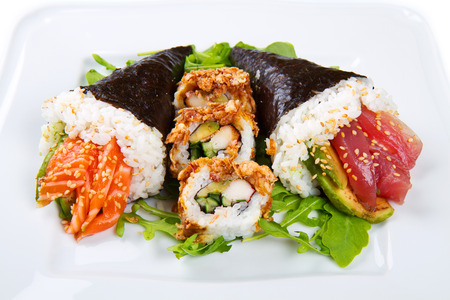 soysauce: mixed dish of sushi