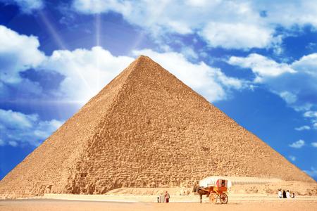 egypt pyramid: pyramid of giza