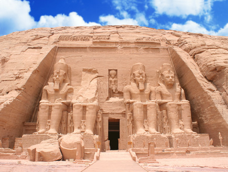 The Great Temple at Abu Simbel, Egypt