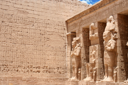 ancient egyptian civilization: Temple of Edfu in Egypt