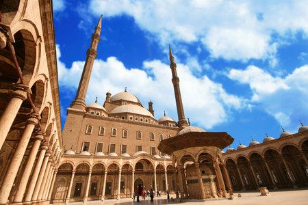 citadel: Citadel of Salah el Din in Cairo, Egypt Editorial