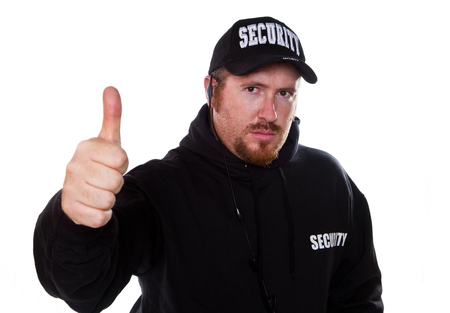 security guard: security