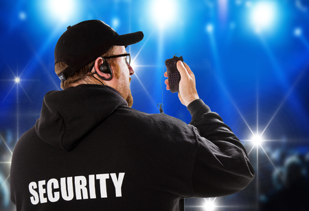 security guard: security