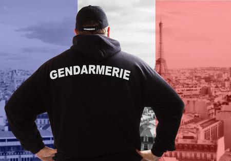 la gendarmerie à Paris