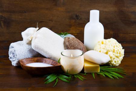 noix de coco: produits spa de noix de coco