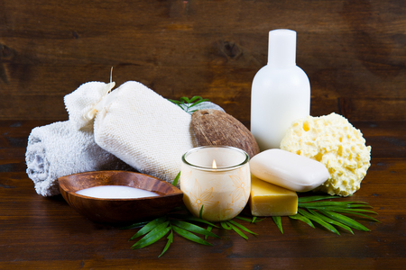 body milk: spa coconut products