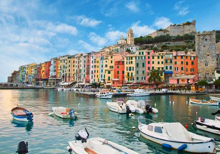 hollidays: beautiful Portovenere - Ligurian coast of Italy