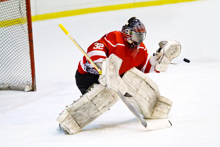 gardien de but de hockey sur glace