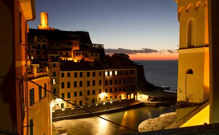 vernazza: Vernazza, night view