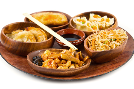 chinesisch essen: mixed chinese food