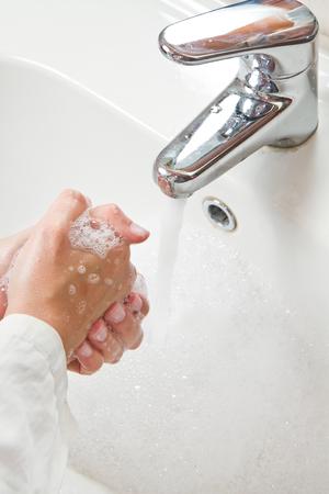 registered nurse: Medical cleanup - Washing hands
