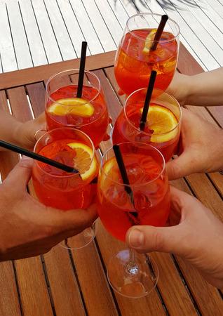 Aperitifs mit leckeren Cocktail