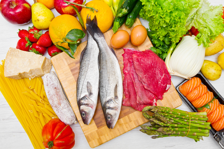 typical foods for a balance diet