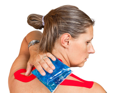convulsion: medical taping