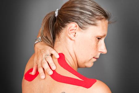 convulsión: taping médica