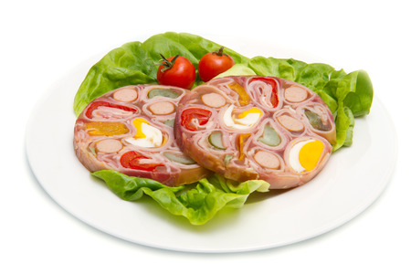 rotunda: appetizer of cold meats in jelly