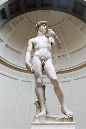 David van Michelangelo, Florence. Italië.