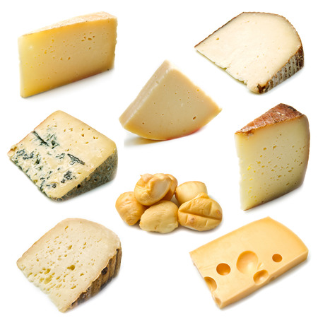 collage of ripe cheese