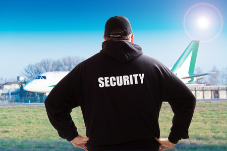 Security guards at the airport
