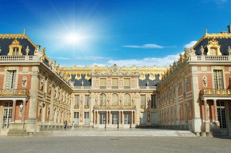 Château de Versailles, France Banque d'images - 82909588