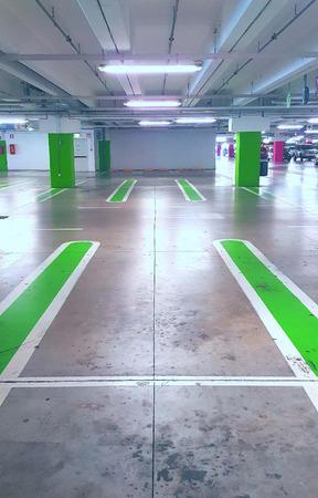 Empty car parking