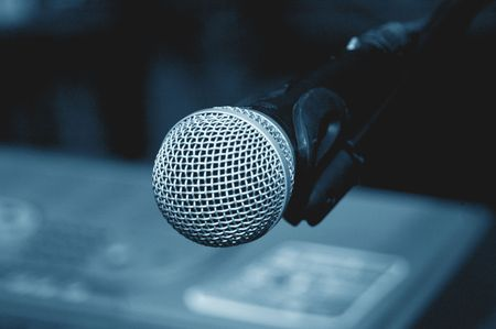 Microphone Clouse-up