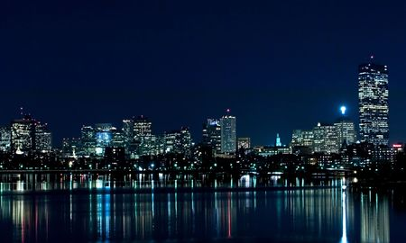 boston skyline: Boston Skyline 1