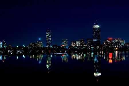 Boston Skyline 2