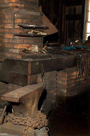 Old Blacksmith shop.