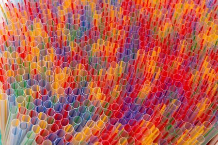 a cocktail stick colored plastic