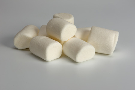 marshmallows white is a sweet confectionery product