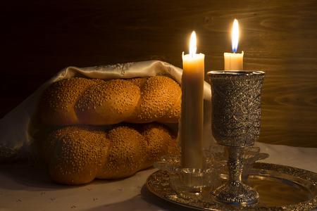 Shabbat Shalom - tradizionale ebraico Sabbath rituale