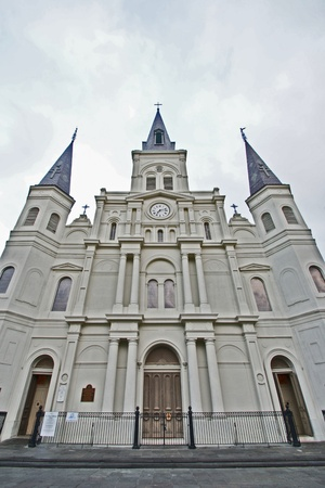 cathedrals: St. Louis Cathedral New Orleans