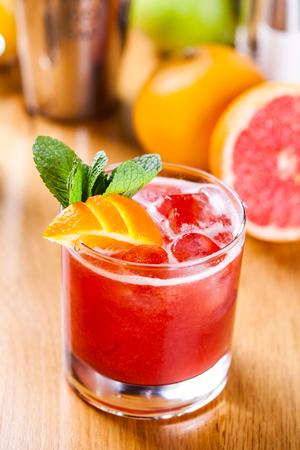 absinthe: C�ctel de pomelo