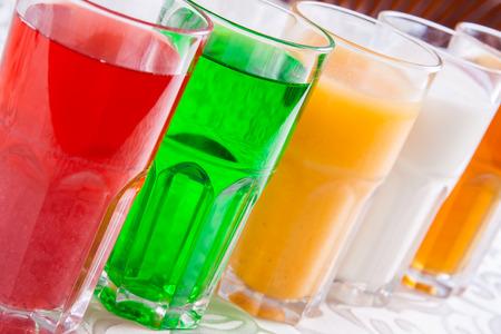Alkoholfreie Getränke in einem Glas Standard-Bild