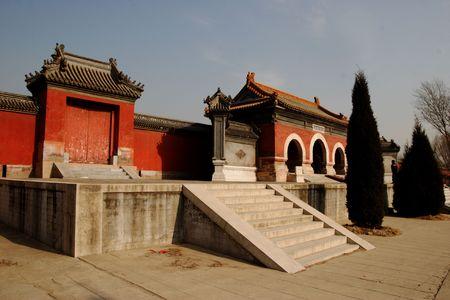 liu: Zhuozhou, three-yi Gong, Liu Bei Stock Photo
