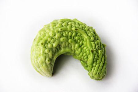 green beans: Verduras, jud�as verdes, calabaza amarga Foto de archivo