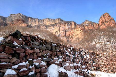 ice mountain:  Blue Ice Mountain