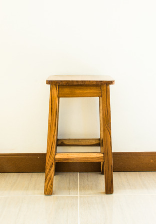 teak: Ancient stool made from teak.
