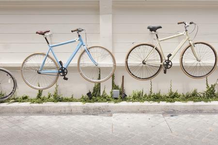 decorated bike: