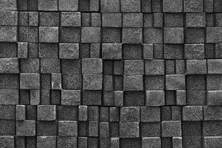replicate: Seamless stone wall background - texture pattern for continuous replicate Stock Photo