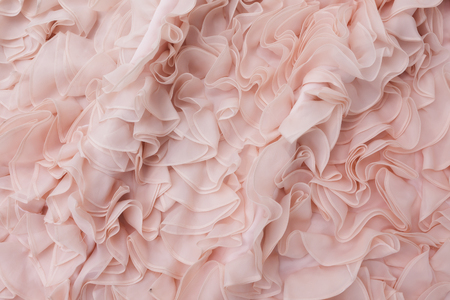 bridal gown: Bridal gown texture pattern background. Stock Photo