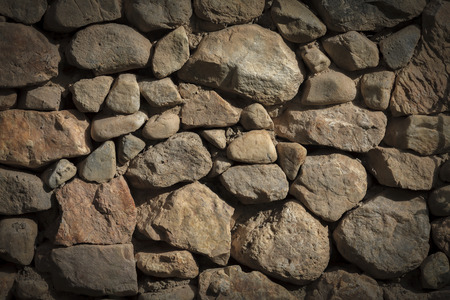 stacked stone: Background - Stacked Stone Wall with Vignette.