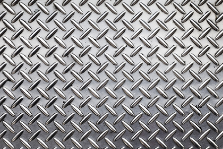 metal grid: The use of scrap iron and steel production. Stock Photo