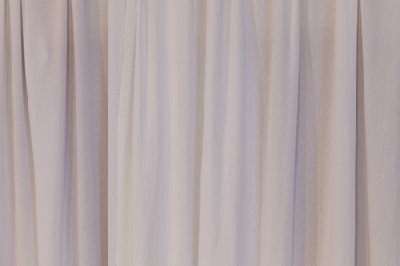 curtain background: Wave Curtain Cloth Fabric Wall Background Texture. Stock Photo