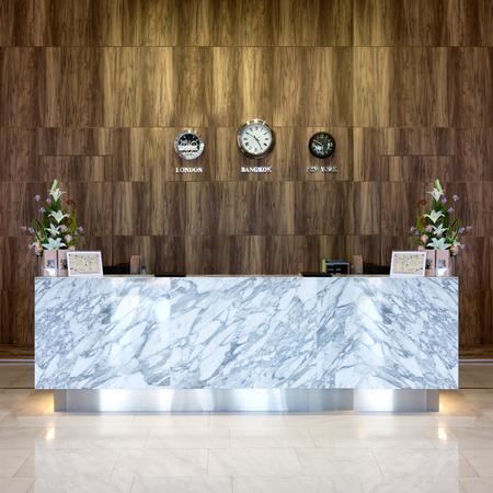common room: Interior view of luxury reception hotel.