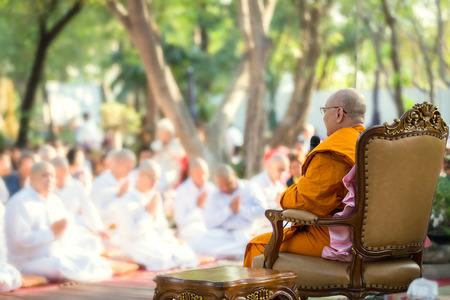 ordination: Thai culture ordination ceremony. - Shallow of focus