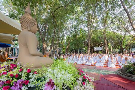 assignation: Nonthaburi, Thailand - March 1, 2016: Thai culture ordination ceremony on March 1, 2016 in Nonthaburi, Thailand.