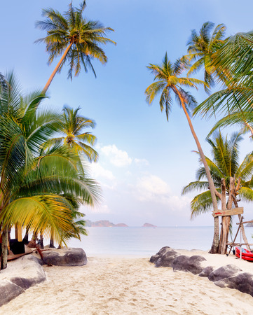 chang: Beautiful tropical beach at Koh chang, Thailand.