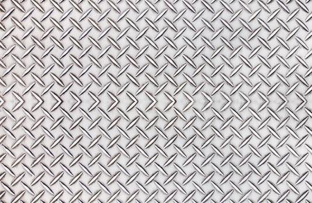 diamond plate: Old steel diamond plate pattern background texture. Stock Photo